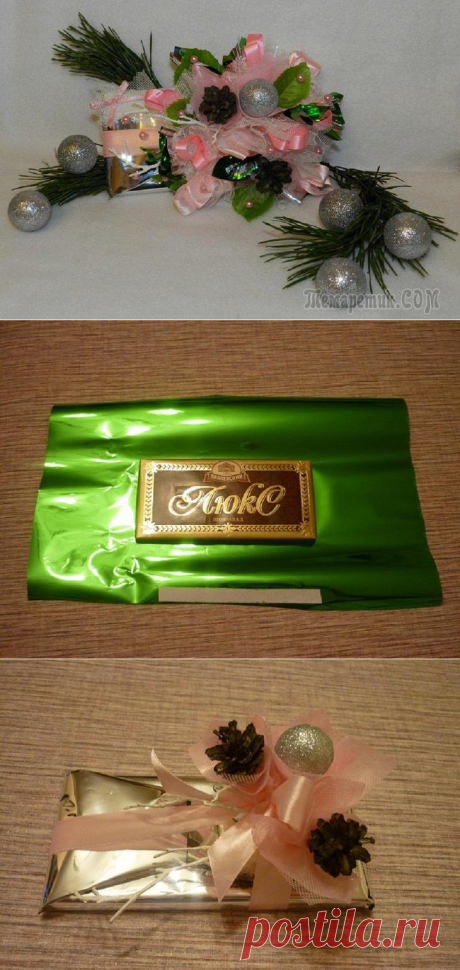 Master class: registration of a chocolate by New year