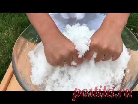7 способов сделать искусственный снег своими руками   33 Поделки