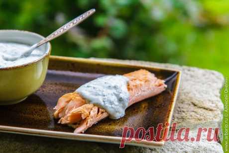 Соус из йогурта к рыбе