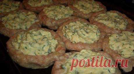 Как приготовить мясные гнёзда   - рецепт, ингредиенты и фотографии