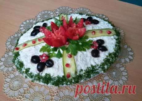 (1) Салат на праздничный стол Автор рецепта Juliya Dobrovolskaya - Cookpad