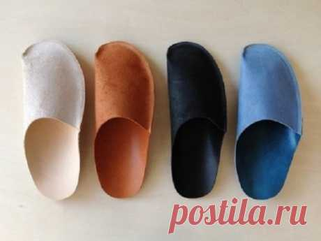 As for one evening to sew a set of slippers for guests. It is useful to hospitable hostesses! | Golbis