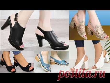 Very Very Pretty Designs Of Sandals With Peep toes Heels And Sling backs Collection 2020
