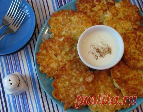 """Капустные оладьи с сыром - из разряда """"быстро, просто, экономно и вкусно""""!"""