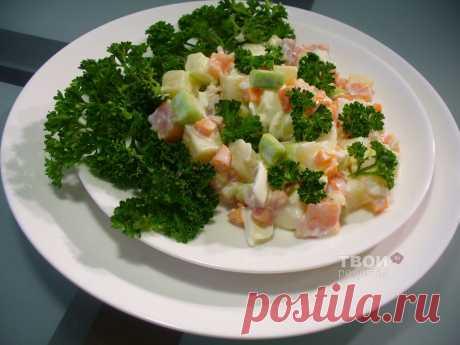 "Рецепт салата ""Оро"" с морковью."
