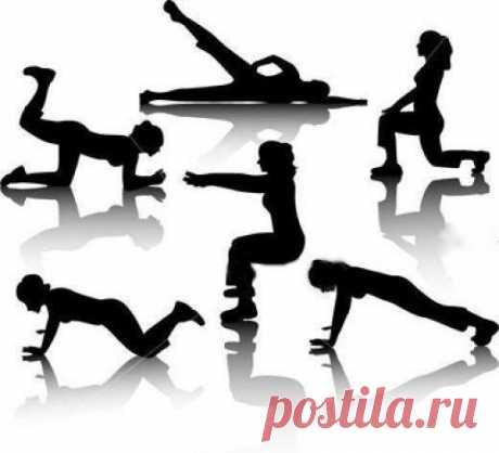 Какие упражнения избавят от живота и боков?
