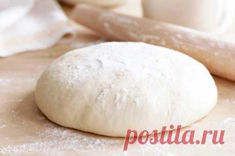 Универсальное дрожжевое тесто за 5 минут. Походит для пирожков, беляшей, пиццы | Вкусно и полезно | Яндекс Дзен