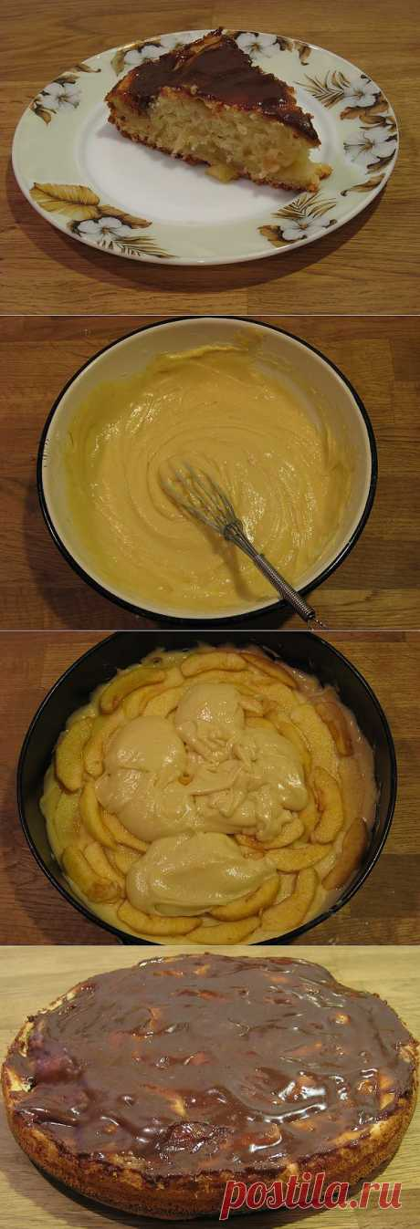 Легкие рецепты для вкуса жизни » Яблочный пирог на кефире