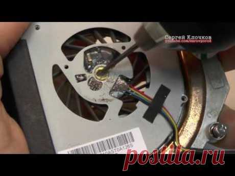 How to disassemble the non-demountable fan