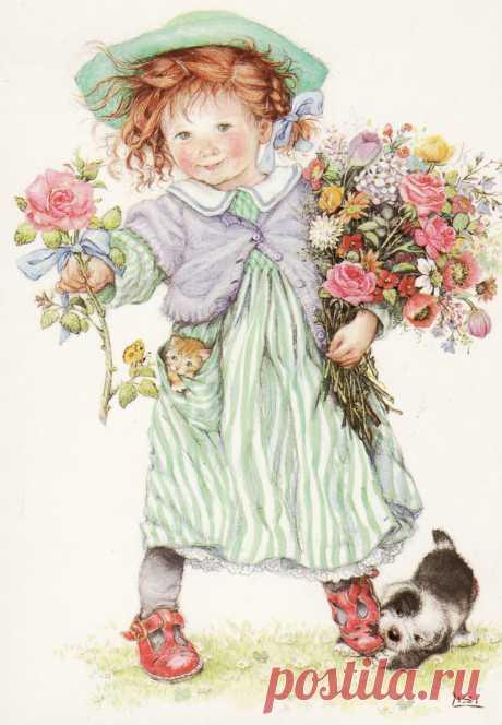 Детская страничка. Иллюстрации от Lisi Martin