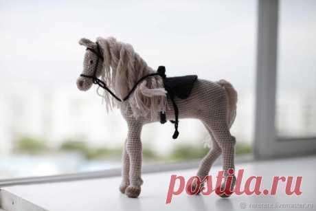 Мастер-класс смотреть онлайн: Вяжем лошадку крючком | Журнал Ярмарки Мастеров