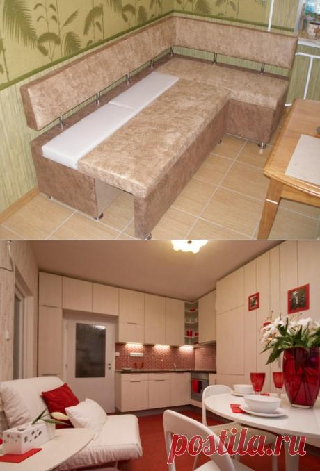 Спальное место на кухне: как обустроить кухню со спальным местом?