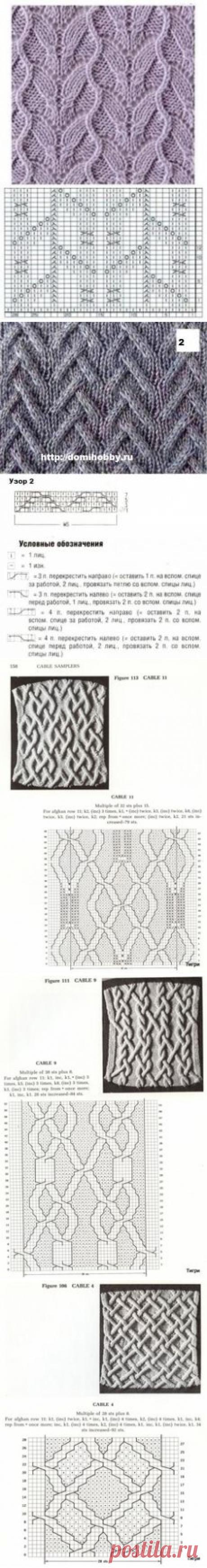 (74) вязание узоры в Pinterest