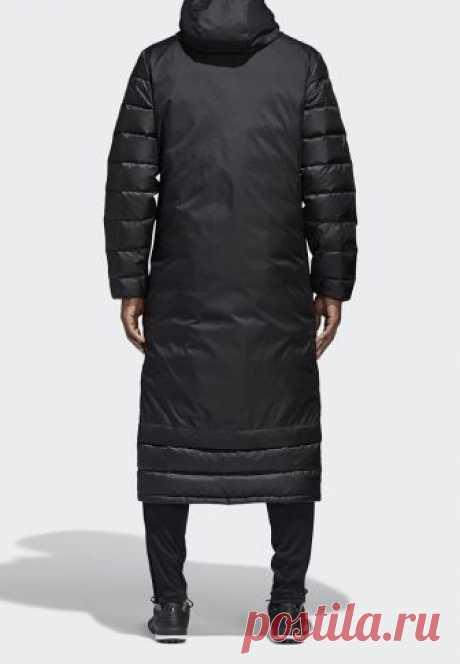 Пуховик adidas JKT18 WINT COAT купить за 11 190 руб AD002EMAMBE6 в интернет-магазине Lamoda.ru