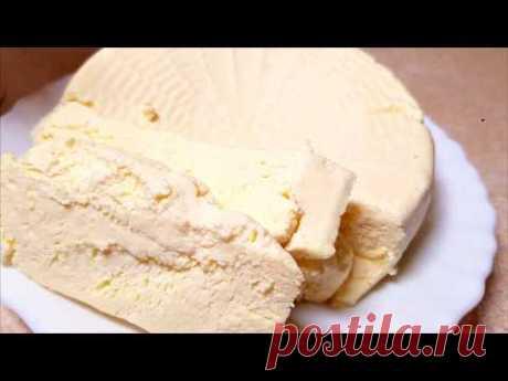 Домашний СЫР! на 450 гр. сыра ушло: молоко - 1.5 л. сметана - 9 ст.л. (