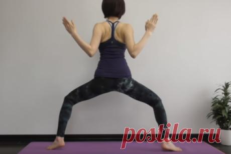 Подтянуть бедра, живот и талию! 1 упражнение для идеальной формы   Всегда в форме!