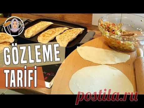 Gözleme Tarifi - Sebzeli, patlıcanlı   Hatice Mazı ile Yemek Tarifleri