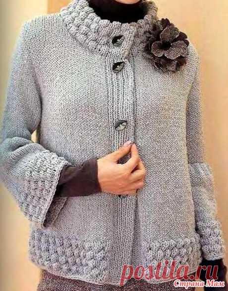La chaqueta impresionante, modestamente, pero está delicado. Los rayos. - la MODA TEJIDA + PARA las SEÑORAS no DE MODELADO - el País de las Mamás