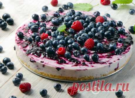 Cake without pastries: the recipe of a summer cottage cheese dessert is tochka.net