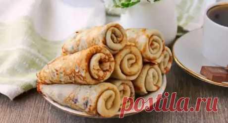 Блинчики с начинкой из шоколадной пасты: сербские палачинке - Вкусные рецепты - медиаплатформа МирТесен