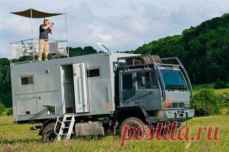 Экстремальные автодома — с ними возможен отдых на краю света   АвтоМотив   Яндекс Дзен