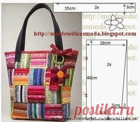Bags with patterns