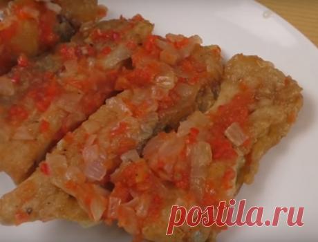 Необычная закуска из жареной рыбки - Четыре вкуса - медиаплатформа МирТесен