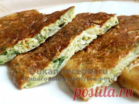 Капустная экспресс-запеканка на сковороде - Рецепты для диеты Дюкана | Рецепты для диеты Дюкана