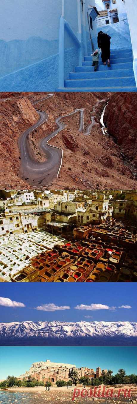 (+1) - Причины побывать в Марокко | ТУРИЗМ И ОТДЫХ