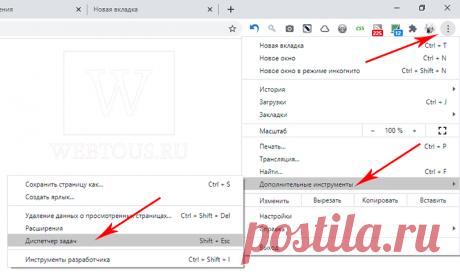 Как ускорить работу Google Chrome при помощи диспетчера задач браузера
