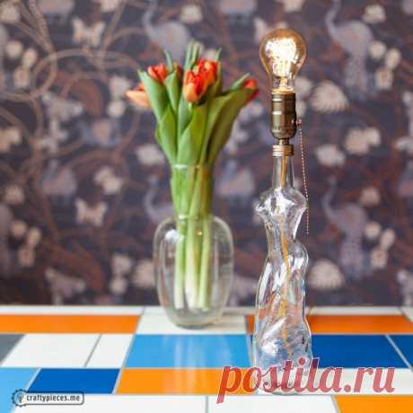 Лампы из бутылок