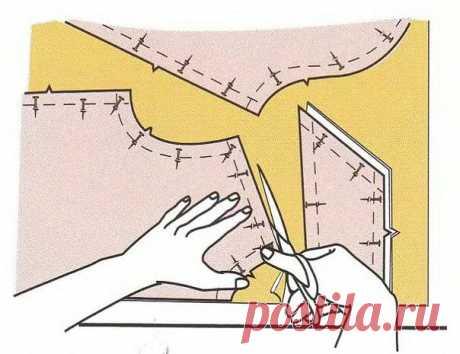 Правила раскроя (Шитье и крой)   Журнал Вдохновение Рукодельницы