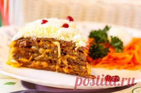 Печеночный торт — Sloosh – кулинарные рецепты