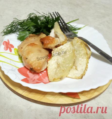 Куриная грудка с сельдереем запечённая в духовке Полезно и вкусно. Быстро и просто.