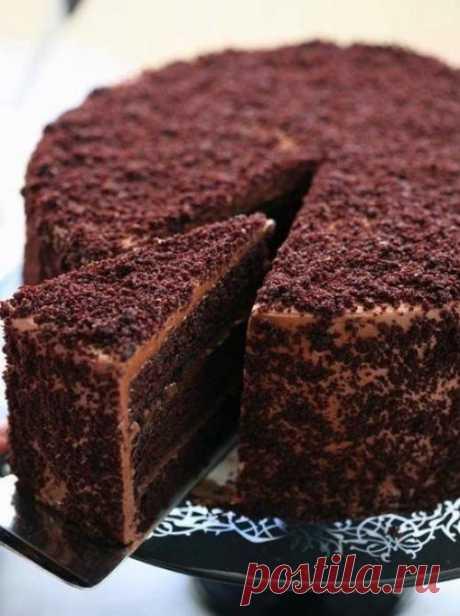 """La torta de chocolate """"Пеле"""""""