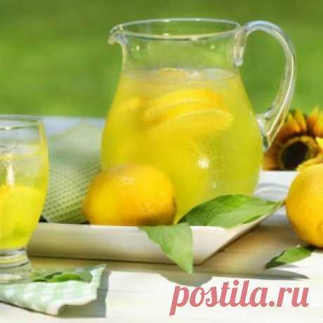 Вода с лимоном натощак заменит уйму лекарств! - МирТесен