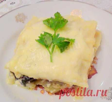 Овощная вегетарианская лазанья с кабачками рецепт с фото пошагово - 1000.menu
