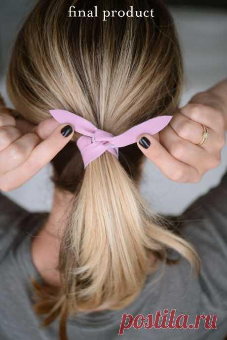 Полоска кожи на волосах (Diy) / Украшения для волос /
