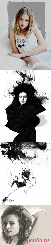 Фото и рисунки, арт и креативная реклама