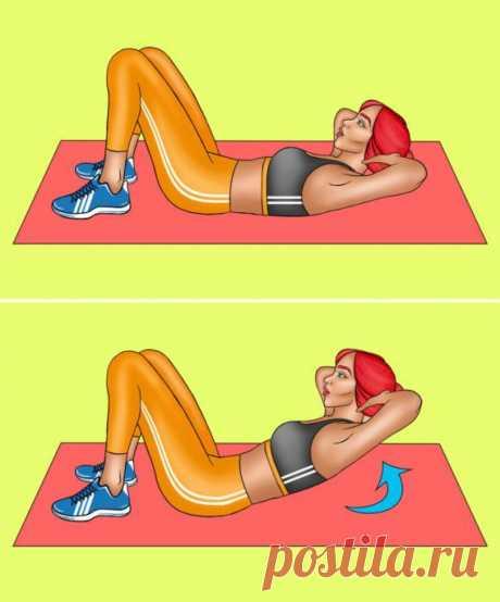 10-минутная ежедневная тренировка для плоского живота