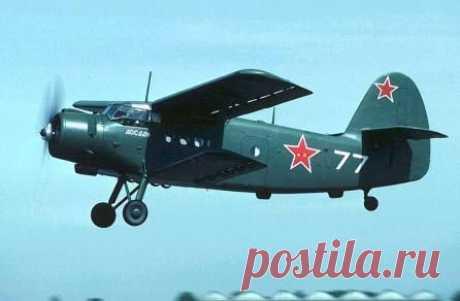 Ан-2.Транспортно-десантный самолёт