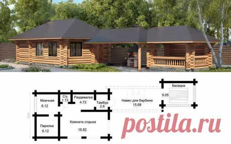 Баня: фото, проекты и чертежи строений, способных преобразить участок подробно, с фото