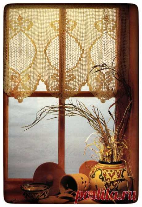 Crochet Heklanje: Šma 5 - Kratka zavjesa