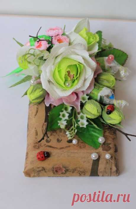 Цветы из Гофрированной Бумаги Своими Руками + 5 Мастер-Классов