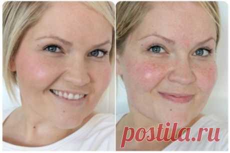 Как добиться ровного цвета лица без тонального крема - interesno.win