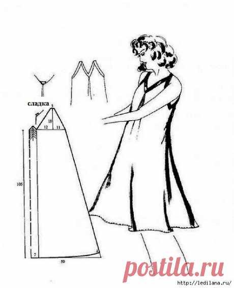 Летние платья и сарафаны - 27 простых выкроек.