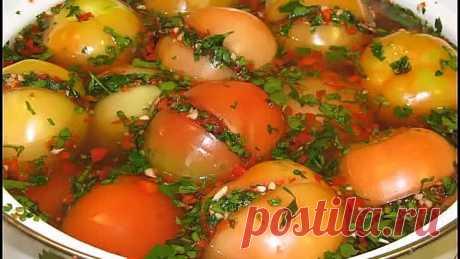 Квашеные помидоры - вкусное, полезное и необыкновенно приятное блюдо!