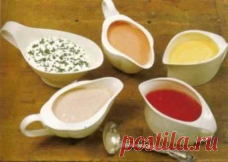 5 соусов французской кухни |
