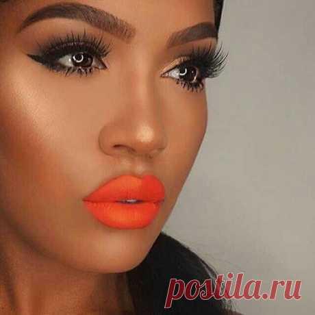 Оранжевая помада: кому подойдет? Примеры макияжа, фото