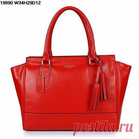Ещё одна миленькая красная сумка.